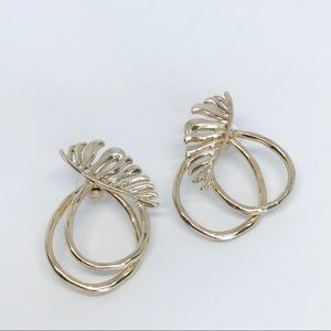 💌 Palma Jacket Earrings-gold